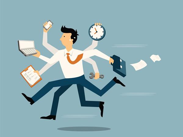 時間に追われる仕事をなくすべき